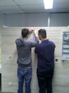 HBFS2: Erste Installation im neuen Werkraum