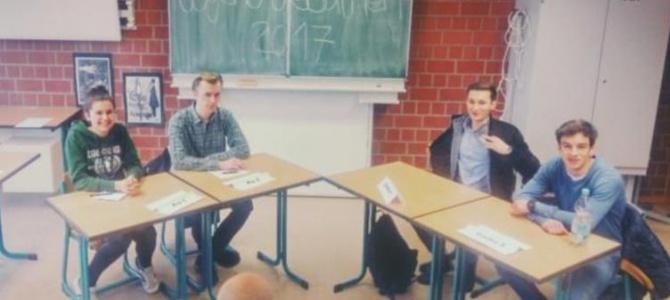 Jugend debattiert: Regionalverbundsfinale 2016/17
