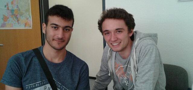 Französische Schüler aus Aubenas/Süd-Frankreich zu Gast