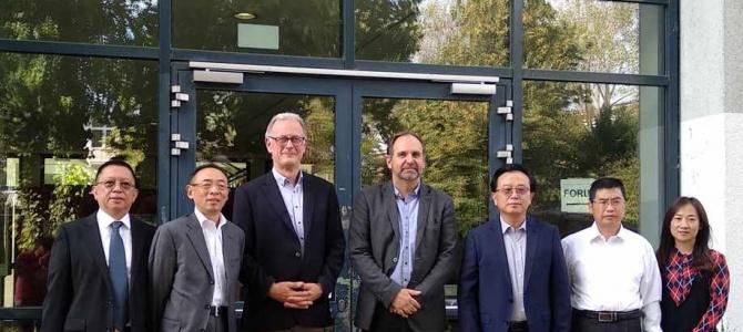 Besuch einer Delegation aus China