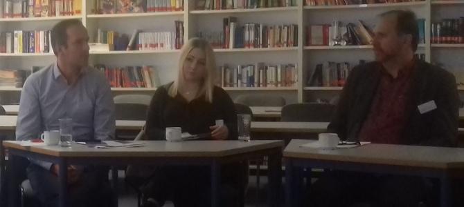 Besuch des EU-Parlamentariers Arndt Kohn