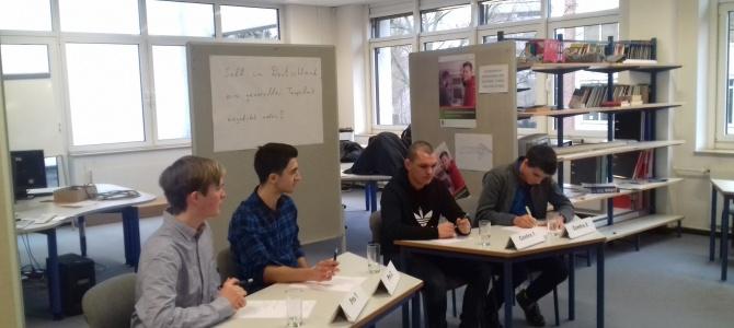 Schulfinale Jugend debattiert 2019