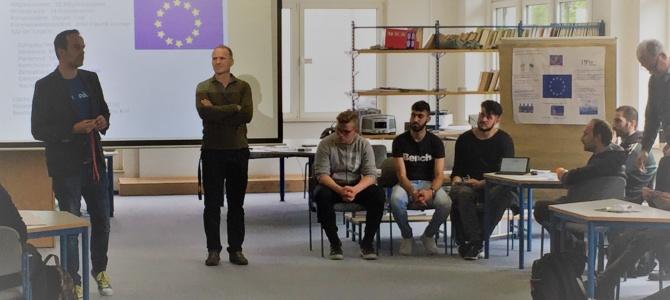 EU-Abgeordneter Arndt Kohn besuchte unsere Schule