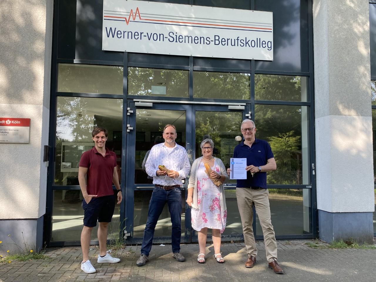 Werner-von-Siemens-Schule macht sich auf in eine gesunde Zukunft – 1. Platz beim Kreativwettbewerb der IKK classic